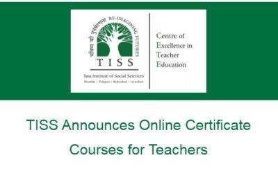 TISS Announces Online Certificate Courses for Teachers